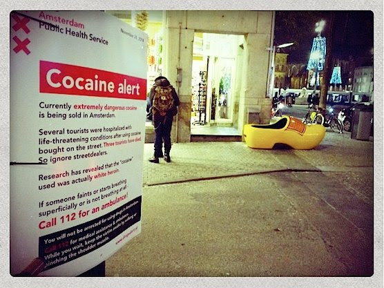 Amsterdam cocaine alert_from_Police