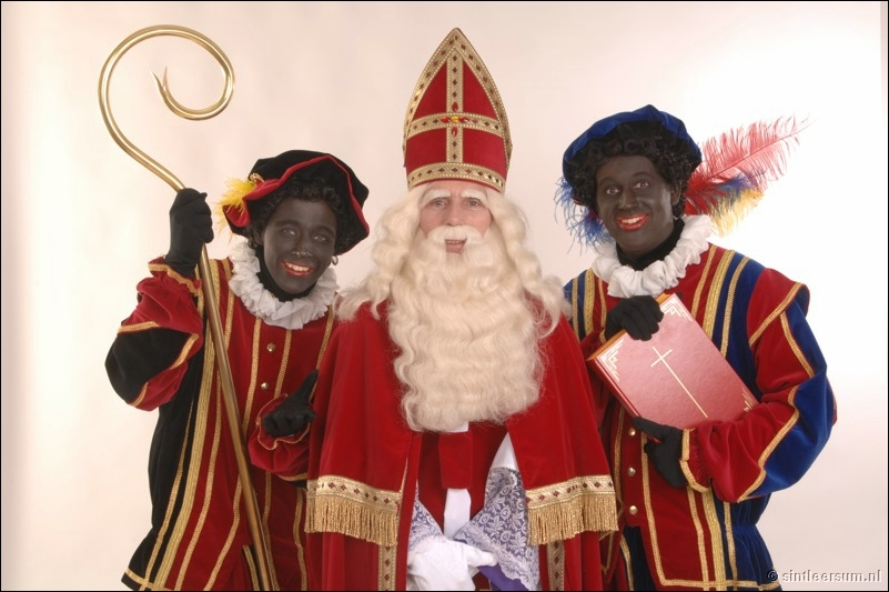 Sinterklaas (Santa Claus) and Zwarte-Piet-Netherlands